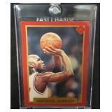Rare Michael Jordan Esquire Card