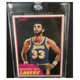 Mint 1981 Topps Kareem Abdul-Jabber Card