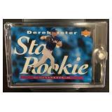 Star Rookie Mint Derek Jeter Rookie Card