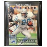 Rare Barry Sanders Card, Only 500 Made