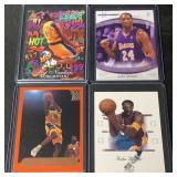 (4) Mint Kobe Bryant Cards