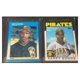 (2) Barry Bonds Rookie Cards