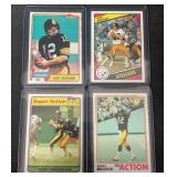 (4) Vintage Topps Mint Terry Bradshaw Cards