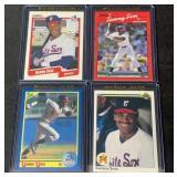 (4) Mint Sammy Sosa Rookie Cards