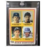 1978 Topps Alan Trammel/Paul Molitor Rookie Card