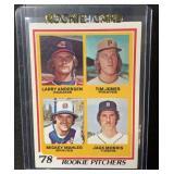 1978 Topps Mint Jack Morris Rookie Card