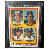 1978 Topps Mint Lou Whitaker Rookie Card