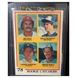 1978 Mint Dale Murphy/Lance Parrish Rookie Card