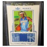 Carmelo Anthony Rookie Jersey Card 44/400