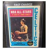 1974 Topps John Havlicek Card