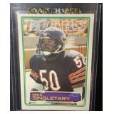 1983 Topps Mike Singletary Rookie Card