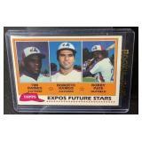 1981 Topps Tom Raines Rookie Card Mint