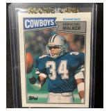 1987 Topps Hershel Walker Rookie Card