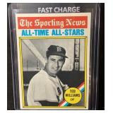 1976 Topps Ted Williams Card Mint/Vintage