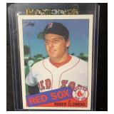 1985 Topps Mint Roger Clemens Rookie Card