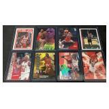 (8) Mint Dennis Rodman Cards