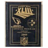 Rare Original 2009 Super Bowl XLIII Program