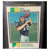 Vintage Ken Stabler Rookie Card