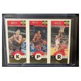 1996 Pippen, Rodman, Kukoc Gold Card