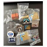 (12) NASA Pins