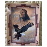 Heart Like An Eagle Plate
