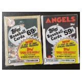 Sealed 1986 & 1987 Topps Baseball Card