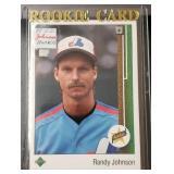 1989 Upper Deck Randy Johnson Rookie Card