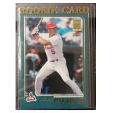 2001 Topps Albert Pujols Rookie Card