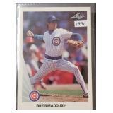 1990 Leaf Greg Maddux Card
