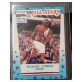 1989-90 Fleer All Star Michael Jordan Card
