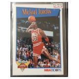 1991-92 Slam Dunk Champion Michael Jordan Card