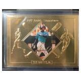 Ken Griffey Jr. 22 Karat Gold Card Mint