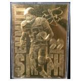 Emmitt Smith 22 Karat Gold Card Mint