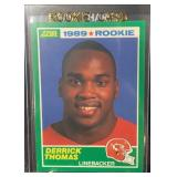 1989 Score Mint Derrick Thomas Rookie Card