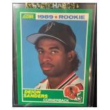 1989 Score Mint Deon Sanders Rookie Card
