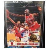 1993 Rare Michael Jordan Hoops Gold Card Mint
