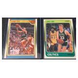 (2) 1988 Fleer Mint Larry Bird Cards