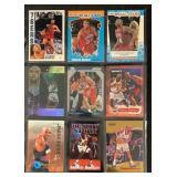 (9) Mint Charles Barkley Basketball Cards