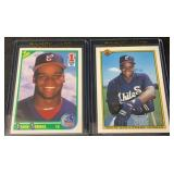 (2) Mint Frank Thomas Rookie Cards