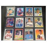 (12) Mint Hall of Famer Baseball Cards
