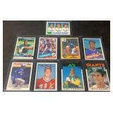 (9) Mint Classic Baseball Rookie Cards