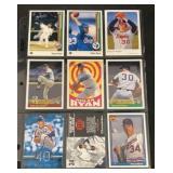 (9) Mint Nolan Ryan Baseball Cards