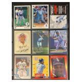 (9) Mint Bo Jackson Baseball Cards
