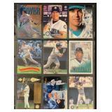 (9) Mint Edgar Martinez Baseball Cards