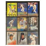 (9) Mint Derek Jeter Baseball Cards