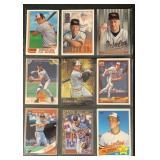 (9) Mint Cal Ripken Jr Baseball Cards