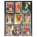 (9) Mint Mike Trout Baseball Cards
