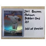 2011 Bowman Platinum Baseball Card Set