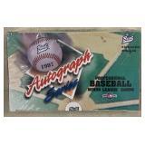 Rare 1997 Best Baseball Factory Sealed Box