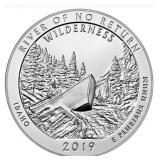 Five Ounce Silver Round: 2019 Idaho #7